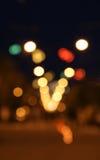 Glühender Mehrfarbenweihnachtshintergrund Stockfotografie