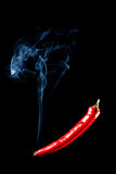 Glühender Paprika-Pfeffer Lizenzfreie Stockfotografie
