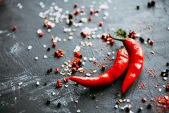Glühender Paprika-Pfeffer Lizenzfreie Stockbilder