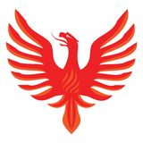 Glühender Paprika Phoenix Stockbild