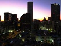 Glühender Sonnenaufgang Lizenzfreie Stockfotografie