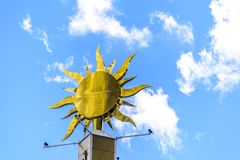 Glühender Sun Stockfotos