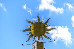 Glühender Sun Stockfoto