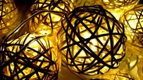 Glühender Weidenball stockbilder