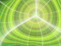 Glühender wellenförmiger Hintergrund des Fractal vektor abbildung