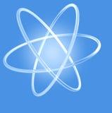 Glühendes Atom Stockbilder