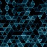 Glühendes Dreieckdesign Lizenzfreie Stockbilder
