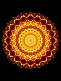 Glühendes Muster Stockbilder