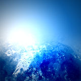 Glühenwasser Stockbild