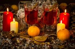 Glühenwein lizenzfreie stockfotos