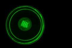 Glühlampe belichtet lokalisiert Lizenzfreie Stockfotografie