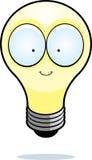 Glühlampe der Karikatur Stockbild