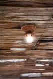 Glühlampe der Weinlese Lizenzfreie Stockfotos