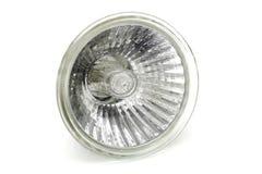 Glühlampe des Halogens auf weißem Hintergrund Lizenzfreies Stockbild
