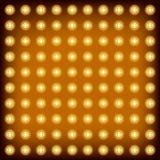 Glühlampe des Hintergrundes Lizenzfreies Stockfoto