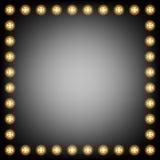 Glühlampe des Hintergrundes Lizenzfreie Stockbilder