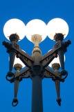 Glühlampe des weißen Kreises Lizenzfreie Stockfotos