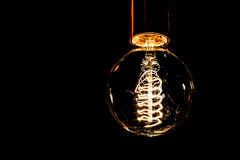 Glühlampe Edison Lizenzfreies Stockbild