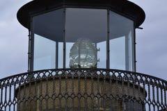 Glühlampe eines Leuchtturmes Stockfoto
