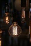 Glühlampe für Dekoration Lizenzfreies Stockbild