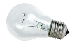 Glühlampe getrennt Stockfoto