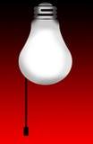 Glühlampe-Hintergrund lizenzfreie abbildung