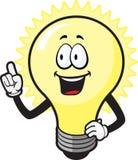 Glühlampe-Kerl Stockbilder