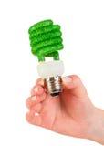 Glühlampe Konzept Eco Lizenzfreies Stockfoto