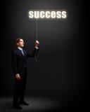 Ideen und Kreativität im Geschäft Stockfoto