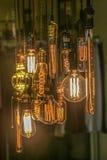 Glühlampedekoration (vorderer Fokus) Lizenzfreie Stockfotografie