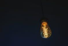 Glühlampeglühen Lizenzfreie Stockbilder