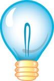 Glühlampeikone lizenzfreie abbildung