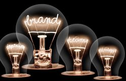 Glühlampekonzept lizenzfreies stockfoto