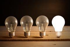 Glühlampelampen Lizenzfreie Stockfotografie