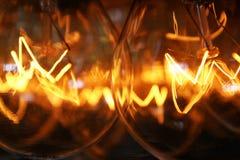 Glühlampen Stockfotografie