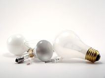 Glühlampen Lizenzfreie Stockfotografie
