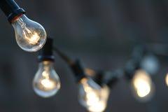 Glühlampen Lizenzfreie Stockfotos