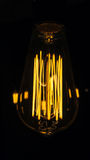 Glühlampen dekorativer antiker Edison-Art Stockbild