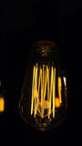 Glühlampen dekorativer antiker Edison-Art lizenzfreie stockfotografie