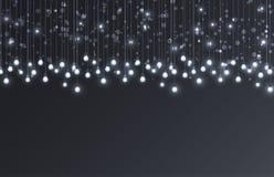 Glühlampen des Vektors Stockfoto