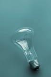 Glühlampen-Hintergrund Stockbild