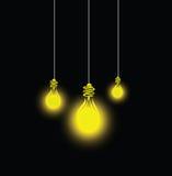 Glühlampenidee Lizenzfreie Stockfotografie