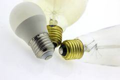 Glühlampenlampenlicht Lizenzfreie Stockbilder