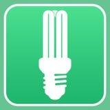 Glühlampezeichen Lizenzfreies Stockfoto