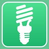 Glühlampezeichen Lizenzfreie Stockfotografie