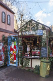 Glühwein-Kiosk Stockfoto