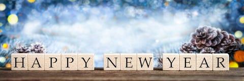 Gl?ckliches neues Jahr lizenzfreies stockfoto
