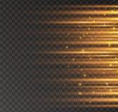 Gl?dande ljus f?r vit vektor illustrationer