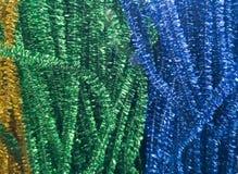 Gl?nzende Dekorationen in den verschiedenen Farben f?r N?harbeit lizenzfreie stockfotos