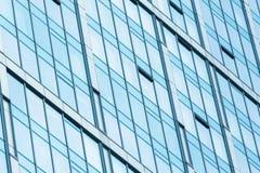 Glaçage moderne de façade Images stock